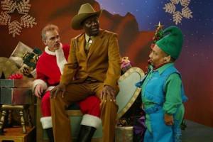 ... Santa : photo Bernie Mac, Billy Bob Thornton, Terry Zwigoff, Tony Cox