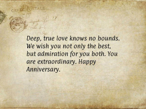 to congratulate your loved ones. Happy Anniversay!