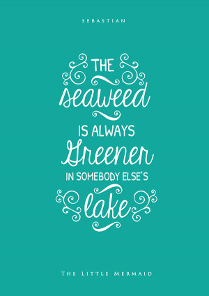 10+ Inspiring Typography Quotes from Disney Movies by Nikita Gill