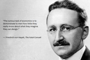 quote:Friedrich Hayek 'The curious task of economics'.. reminding ...