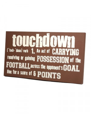 Football Mom Quotes Football sign