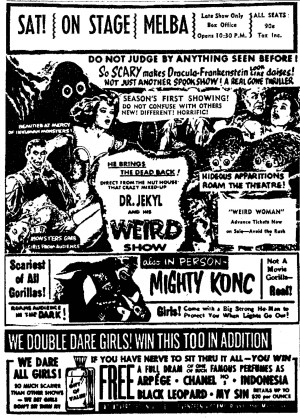 The Smell Of Fear (Or Something Stinks In Vintage Film Ad)