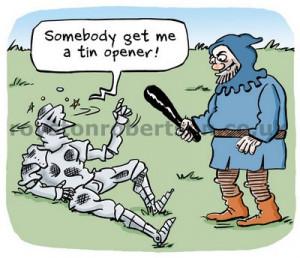 Medieval Knight Cartoon...