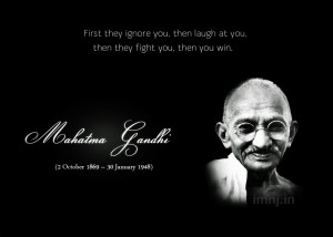 Labels: Mahatma Gandhi Quotes
