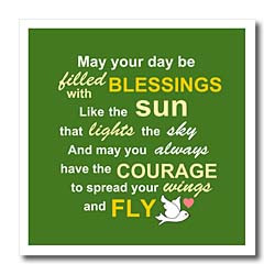 click here to see close up of Irish blessing rhyme for courage bravery ...