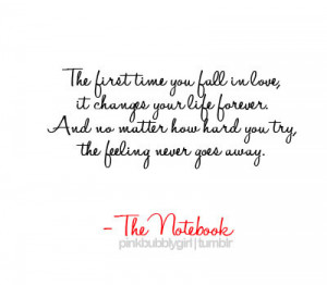 Notebook Quote on Mheart95 The Notebook Quotes