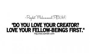 care, hqlines, islam, life, love, prophet muhammad, quotes, sayings