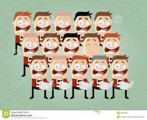 Funny Choir Pictures Funny cartoon choir royalty