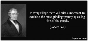 Sir Robert Peel Quotes