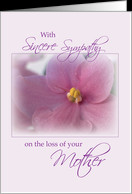 Sympathy Loss of Mother card - Product #527721