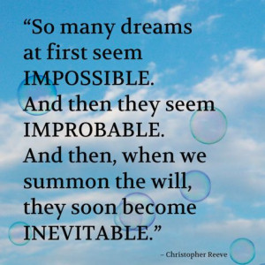 Remarkable man. #quotes #quote #christopherreeve #superman #dreams # ...