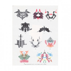 Show details for Rorschach Inkblot Test Miniature Inkblots In Color ...