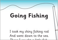 Going Fishy Rhyme