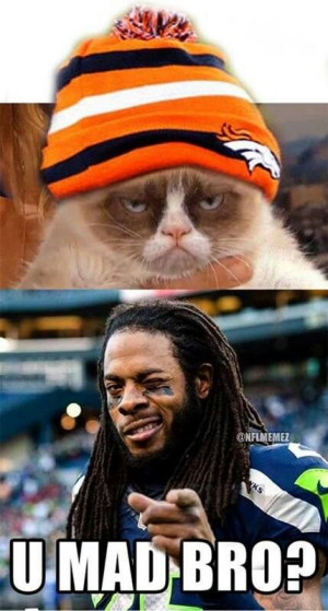 ... Richard Sherman Funnies, Seattle Seahawks, 12Th Man, Cats Quotes