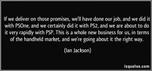More Ian Jackson Quotes