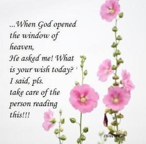 Todays Devotion ....God's blessings for Us.