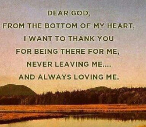 Thank you Lord †