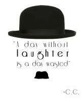 Charlie Chaplin Quote Tattoo 2 years ago in Tattoo Design