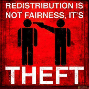 redistribution is not fairness its theft Redistribution is Not ...