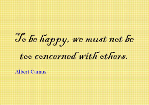 Quote of the Day : Albert Camus