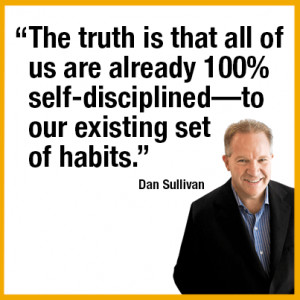 The truth is that all of us are already 100% self-disciplined—to our ...