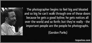 More Gordon Parks Quotes