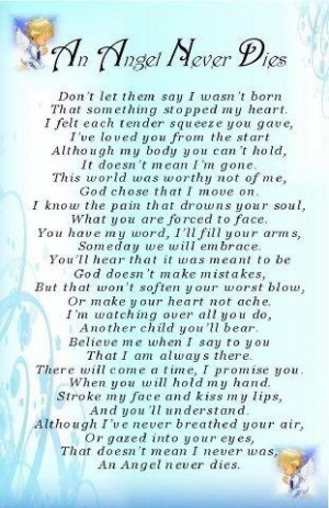 Pregnancy/Infant Loss Poems & Quotes