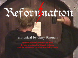 ... musical based on the life of Martin Luther, 16th century