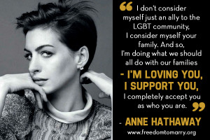 Quotes Supporting Gay Rights http://www.freedomtomarry.org/blog/entry ...