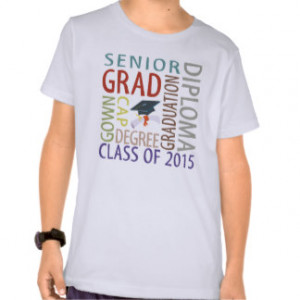 Class Of 2015 T-shirts & Shirts