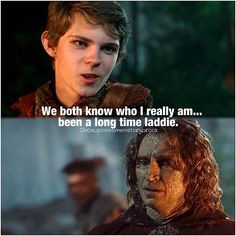 once upon a time peter pan plot twist ouat peter pan quotes one upon ...