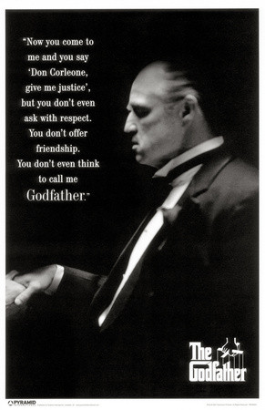 marlon brando as don vito corleone in the godfather 1972