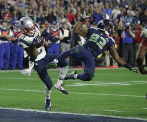 New England Patriots strong safety Malcolm Butler intercepted a pass ...