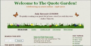 inspirational quotes quote garden