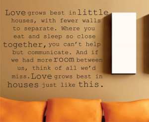 Love My Husband Quotes For Facebook Cover Little house quote