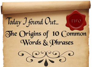 Sayings With The Word Bee http://www.todayifoundout.com/index.php/2012 ...