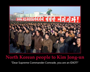 North Korea Funny War Meme