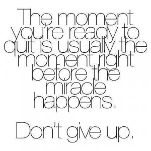 Endure to the end!!!
