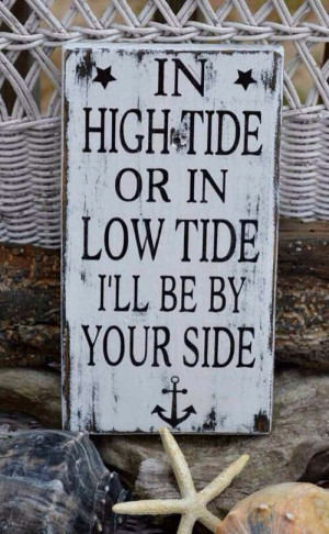 Sea by your side quote