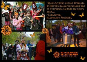 ... this video of Milwaukee's 4th Annual Día de los Muertos Parade