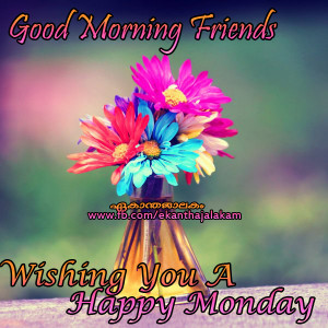 Wish You a Happy Monday and Good Morning Picture with High Quality