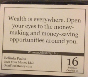 Wealth Is Everywhere. Open Your Eyes To The Money Making And Money ...