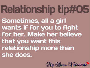 Relationship Quotes - Sometimes all a girl