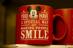 you have a special way of making people smile