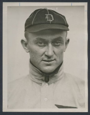 Ty Cobb photo 1913 Detroit Tigers