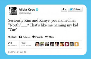 kim kardashian's kid North funny twitter quotes