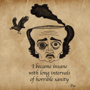 Edgar Allan Poe Quotes About Insanity