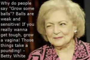 Betty White Facebook Hoax About Balls And Vaginas.
