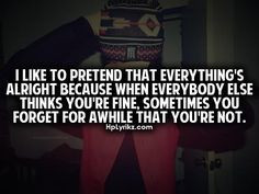 Troubled Relationship Quotes and Sayings   like to pretend that ...