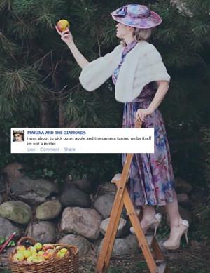 photoset LOL funny photo facebook my carlene Electra Heart Marina and ...